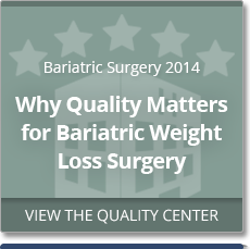 2014 Bariatric Surgery Excellence Award